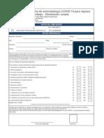 RG-SSO-108 Ficha de sintomatología COVID-19 para regreso al trabajo