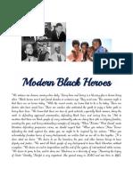 Modern Black Heroes