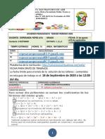 OCTAVO GUÍA DE TRABAJO Y ACUERDO PEDAGOGICO TERCER PERIODO PARTE II-1