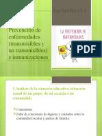 Prevención de enfermedades (transmisibles y no transmisibles
