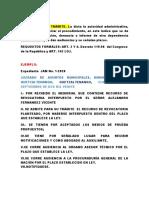 EJEMPLO DE PROVIDENCIA DE TRÁMITE ADMINISTRATIVA y CÉDULA DE NOTIFICACIÓN ADMINISTRATIVA.docx