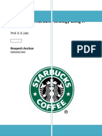 Starbucks turnaround strategy