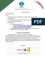 1ET CAPACITORES Electrónica 24mar020