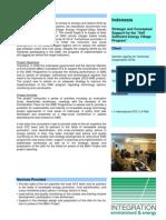"""""""Self-Sufficient Village Energy Program""""(Desa Mandiri) Indonesia"""