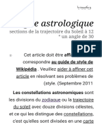 Signe astrologique - Wikipedia