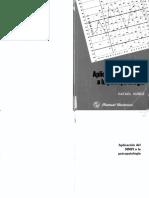 Aplicacion del MMPI 2. Aplicación del MMPI 2 a la Psicopatologia. RAFAEL NUÑEZ.pdf