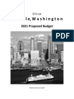 2021 Proposed Budget - Budget Book