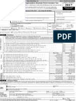 Liberty University's 990 Income Tax form