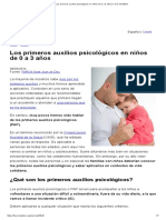 Los primeros auxilios psicológicos en niños de 0 a 3 años _ Faros HSJBCN