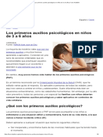 Los primeros auxilios psicológicos en niños de 3 a 6 años _ Faros HSJBCN