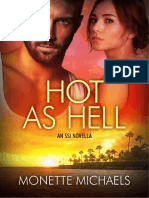 4.5 Hot as Hell (Security Specialists International #4.5) by Monette Mich
