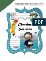 CIENCIAS SOCIALES CARTILLA Nº 4 SEPTIEMBRE GRADO PRIMERO