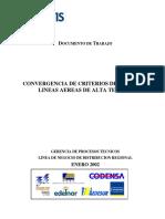 CONVERGENCIA DE CRITERIOS DE DISEÑO DE LINEAS AEREAS DE ALTA TENSION (2)