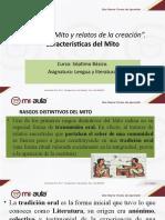 APUNTES CARACTERISTICAS DEL MITO 7°