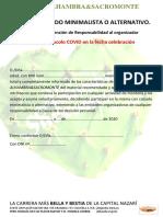 5 Calzado Minimalista o Alternativo CXM ALHAMBRA&SACROMONTE 2020