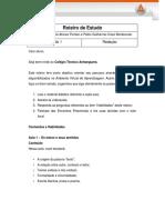 Roteiro de Estudo - Redação