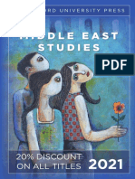 Stanford University Press | Middle East Studies 2021 Catalog