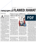 Business Standard - 19 Jan 2011 - NREGA is Flawed- Rawat and States to Pay Additional NREGS Bill- Plan Panel