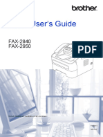 Brother Fax 2840-2950 User Manual