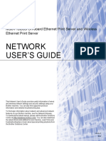 Brother HL 2270D Network User Manual