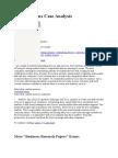 Cisco Systems Case Analysis