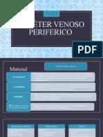 Catéter venoso periferico