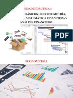 1.2 Econometría y Estadística