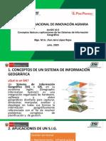 01_Conceptos básicos, componentes de un SIG