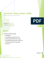 Aula 04 - Document Object Model