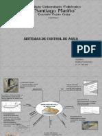 MAPA MENTAL SISTEMAS DE CONTROL DE AGUAS