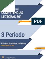 S5 - 3P - 601 COMPETENCIAS  LECTORAS