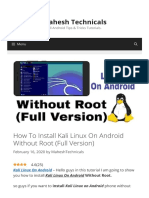 How To Install Kali Linux On Android Without Root (Full Version)_1600769216705