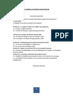 OUALIKane Le système monétaire intérnatonal.docx