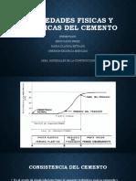 PROPIEDADES FISICAS Y MECANICAS DEL CEMENTO actualizado