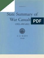 WWII Delaware Navy Casualties