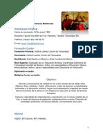 Curriculum Vitae Alecs Santana Maldonado