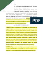 AUTO DEFENSAS PREVIAS EXP 704-