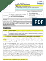 FICHA DE ADECUACION DE 5TO SEMANA 26  29 DE SEPTIEMBRE