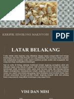 KERIPIK SINGKONG MAKNYOSS