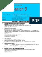 MAJORBENTON Bentonite