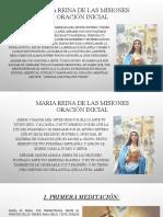 MARIA REINA DE LAS MISIONES