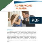 01. La Agresion Humana y  Personalidad Violenta