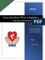 8° GUIA INDIVIDUAL ETICA Y RELIGION
