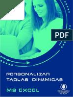 23. Personalizar Tablas Dinámicas