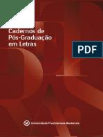 [CADERNOS DE PÓS-GRADUAÇÃO EM LETRAS] A escrita como prática social no processo de formação de professores no curso de Letras da URCA