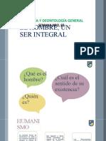 EL HOMBRE, UN SER INTEGRAL