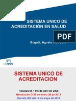 SU  Acreditacion Bogota Febrero 24 de 2016