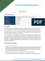 Sílabo Introducción a La Compencia Digital v2