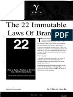Al Ries and Jack Trout - The 22 Immutable Laws of Branding