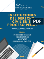 1. JURISPRUDENCIA ALIMENTOS,REIVINDICACIÓN, RESPONSABILIDAD, DESALOJO (1).pdf